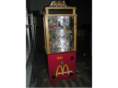Zingos Happy Meal Exprs Gumball Machine